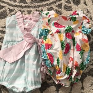 Ruffle Butts rompers